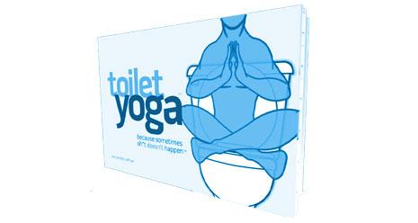 toiletten yoga wenn die n tige entspannung auf dem klo fehlt. Black Bedroom Furniture Sets. Home Design Ideas