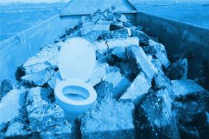 toilette entsorgen