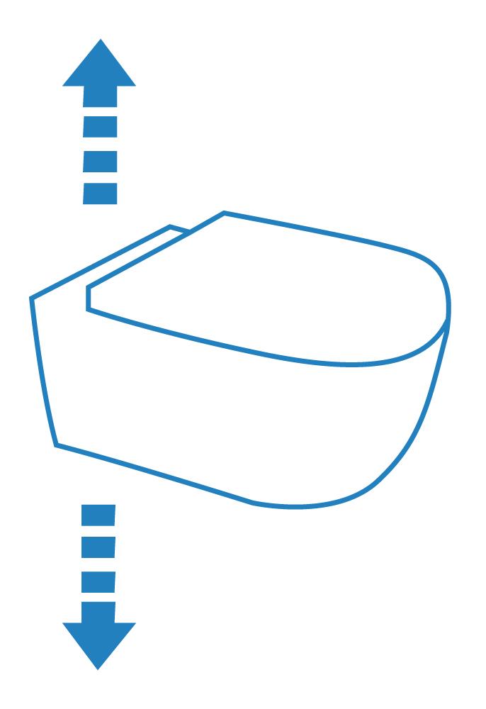 Wie hoch Hänge WC anbringen