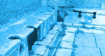 Die Geschichte der Toilette