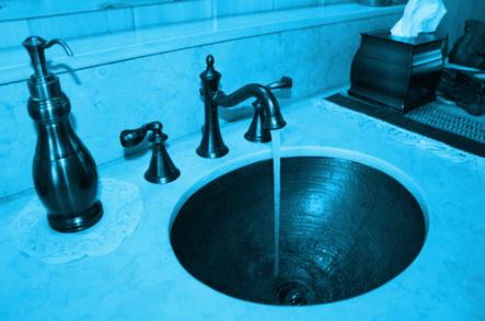 Landhausstil Toilette
