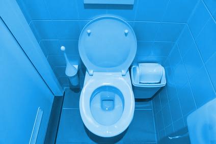 Platz sparen in Gäste-WCs