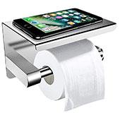 ZOTO Toilettenpapierhalter Ohne Bohren mit Ablage