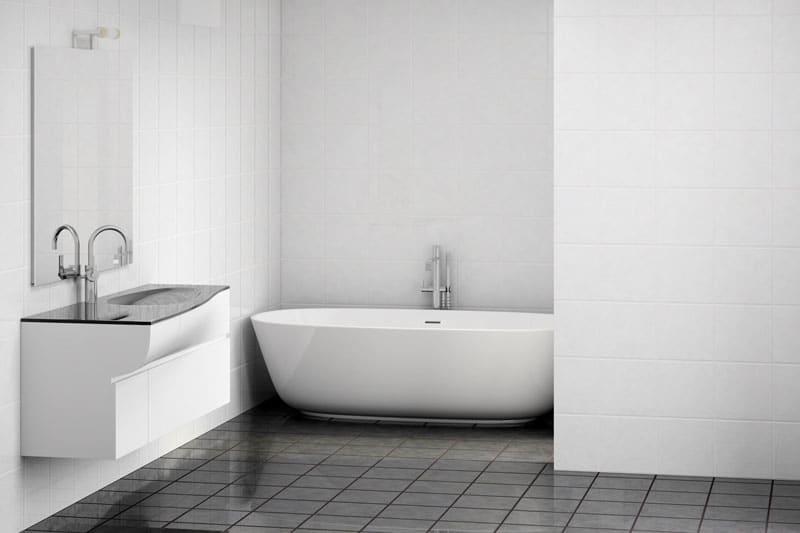 Badezimmerfliesen ersetzen